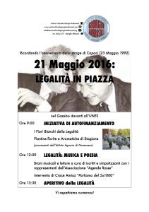 Legalità in piazza